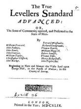 The True Levellers Standard Advanced